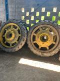Ruedas tractor - foto