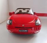 Fiat barchetta rosso corsa 1:18 - foto