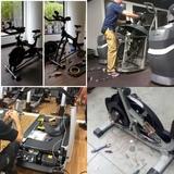 Reparación maquinas de gimnasio - foto