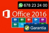 OFFICE 2016 PROFESIONAL PLUS BBA