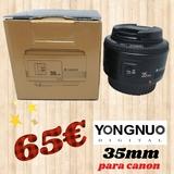 objetivo Yongnuo 35mm - foto