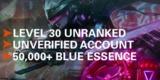 Cuentas unranked smurf nivel30, 50.000ea - foto