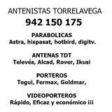 Antenistas en Torrelavega - foto