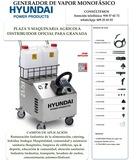 Generador de vapor monofÁsico hyundai - foto