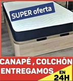 CANAPES Y COLCHONES CON TRANSPORTE - foto