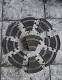 14 curvas interiores negras scalextric - foto