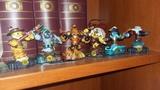 Lote de 6 muñecos skylanders - foto