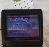 gameboy advance sp pokemon rojo fuego - foto