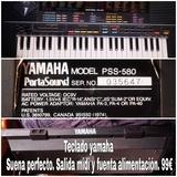 teclado YAMAHA PSS-580 suena perfecto - foto