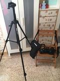 Nikon D3100 con 2 objetivos y trípode - foto