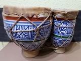 Tbila. Bongos  dobles marroquies - foto