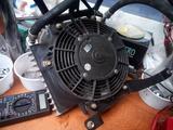 Radiador aceite kit con ventilador - foto