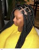 Trenza y fijacion del cabello - foto