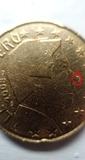 Moneda errónea de Luxemburgo - foto