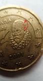 Moneda errónea española - foto