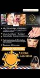 servicio de barbería y uñas en acrílicos - foto