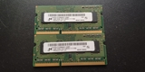 MEMORIAS RAM PORTáTIL DDR3 1600 4GB (2+2
