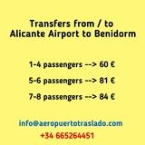 Transfers Alicante Airport to Benidorm - foto