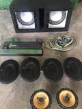 equipo de sonido - foto