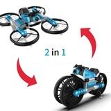 Motocicleta dron 2 en 1 - en su caja - foto