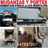 mudanzas Madrid Tlf/647837267 portes - foto