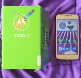 Vendo Motorola G 5 ORO doble sim/huella - foto