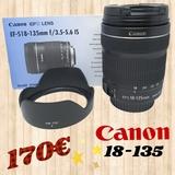 objetivo canon 18-135 - foto