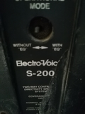 Electro Voice S200 Made in USA - foto