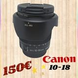 objetivo Canon 10-18 - foto