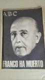 Lote Periódicos Muerte Franco 1975 - ABC - foto
