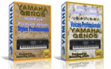 Yamaha genos - pack styles y voices - foto