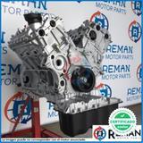 Motores reconstruidos rectificados stock - foto