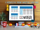 Traductor de paginas web - foto