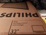 televisión en su caja, perfecta condicio - foto