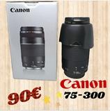 objetivo Canon 75-300 - foto