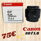 objetivo Canon 50mm - foto
