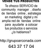 COMMUNITY MANAGER EXPERTO EN DISEÑO - foto