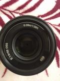 Objetivo Sony e 50mm f1.8 - foto