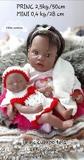 Bebé reborn negrita Princess y mini. - foto