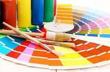 Pintores, trabajos de pintura - foto