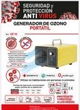 MÁquina de ozono 100 EUROS para COVID. - foto