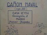 CaÑon naval – siglo xviii - foto