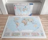 Puzzle Mapamundi - foto