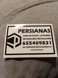 Persianas, mosquiteras - foto