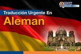 Traduccion urgente en aleman - foto