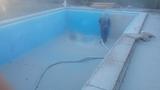 decapado de piscina - foto