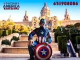 Capitán América para tus fiestas - foto