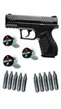 Pack pistola + Balines + botellas co2 - foto