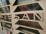 Letras y rótulos de madera - foto