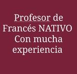 CLASES PARTICULARES DE FRANCéS NATIVO